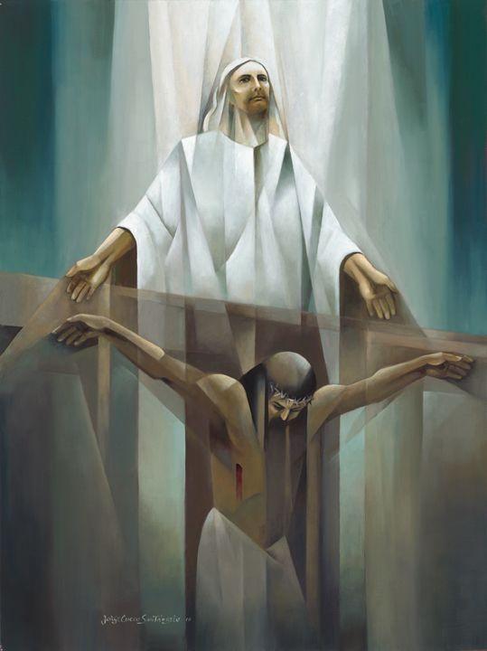 Jorge Coco Santangelo Tout Est Accompli Art Biblical
