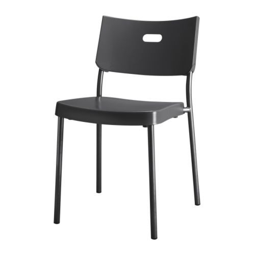 Ikea Metal Chairs Comfortable Reading Chair For Bedroom Herman Stackable Saves Space When Not In Use Church
