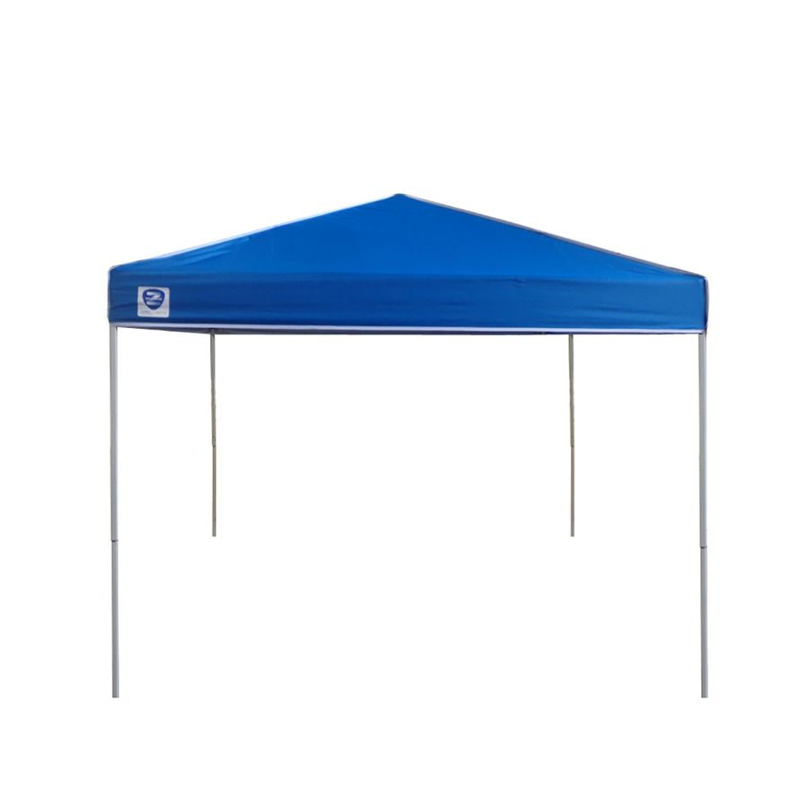 Z Shade 8 Ft W X 10 Ft L Rectangle White Steel Pop Up Canopy Lowes Com Canopy Rectangle Shades