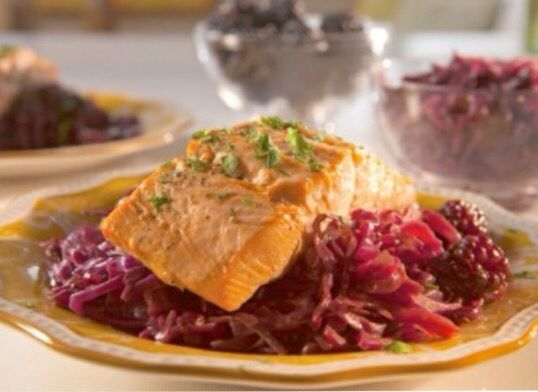 Salmon over sweet and sour cabbage follow us today for the full salmon over sweet and sour cabbage follow us today for the full recipes facebook https forumfinder Gallery