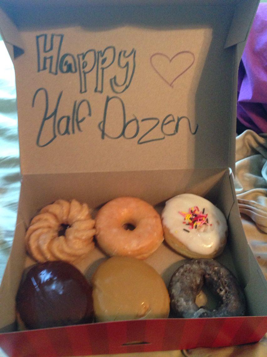 6 month anniversary gift for boyfriend cuteeee diy