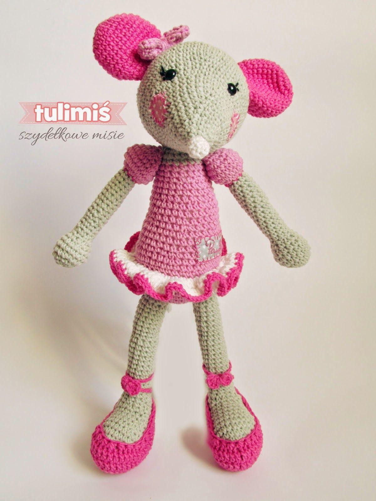 TuliMiś amigurumi ballerina mouse | Mouse - Amigurumi | Pinterest ...