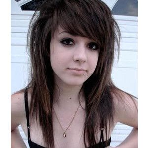 For hair girls emo with haircuts long