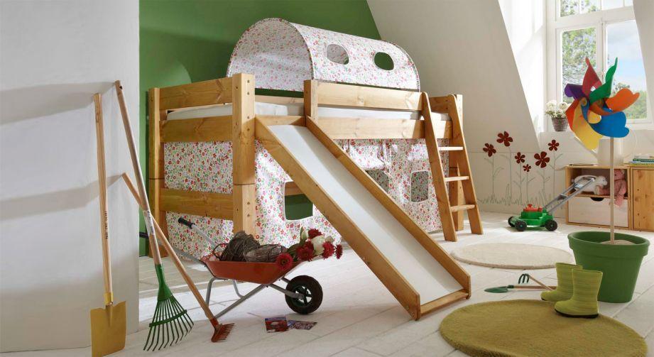 Mini Rutschen Hochbett Kids Dreams Kinderbett Mit Rutsche