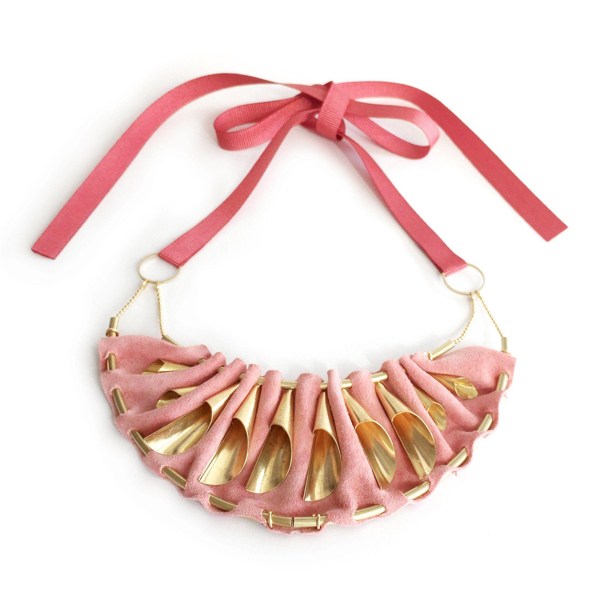 CRAZY LOVE statement necklace