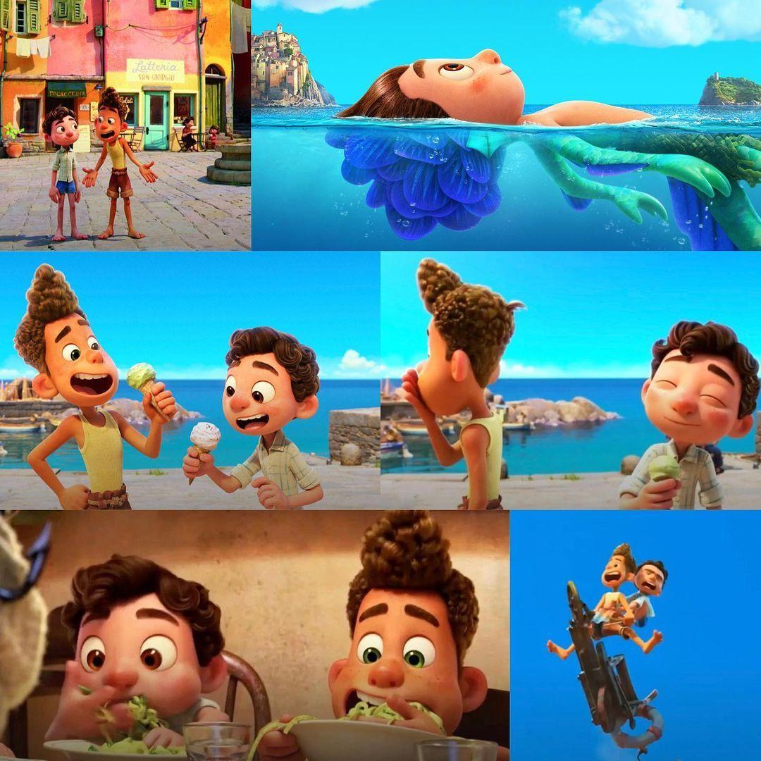 Disney And Pixar S Newest Adventure Makes A Splash This Summer Meet Luca Tomorrow In The Brand New Trailer Pix In 2021 Disney Pixar Movies Disney Funny Pixar Movies