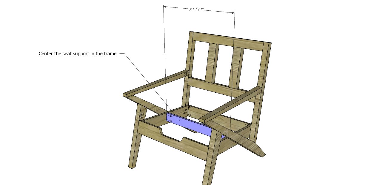 Modern Wood Chair Plans Steel Vancouver Mid Century Design Seat Support