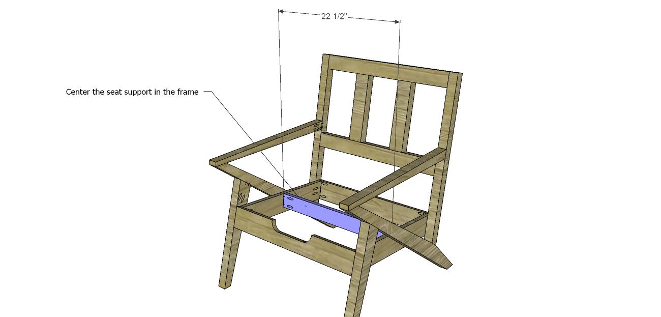 Mid Century Modern Design Chair Plansseat Support Mid Century