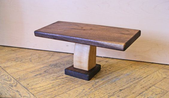 Phenomenal Walnut Meditation Bench With Square Top And By Dancinggrains Caraccident5 Cool Chair Designs And Ideas Caraccident5Info