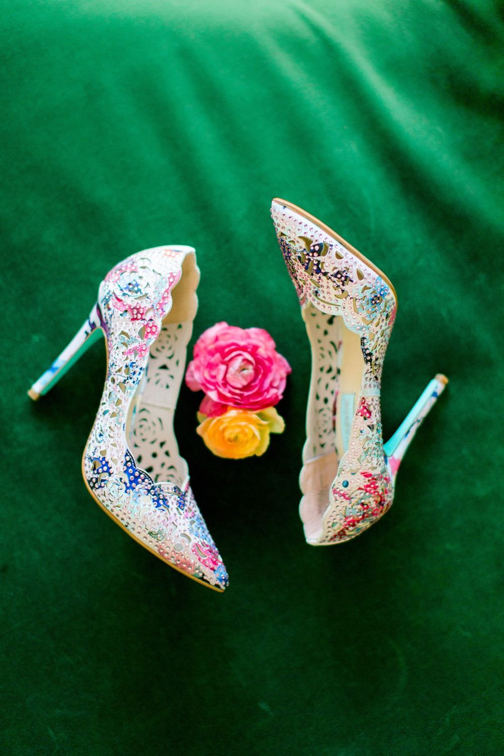 A Unique And Colorful Wedding At The Fig House Heels Pink