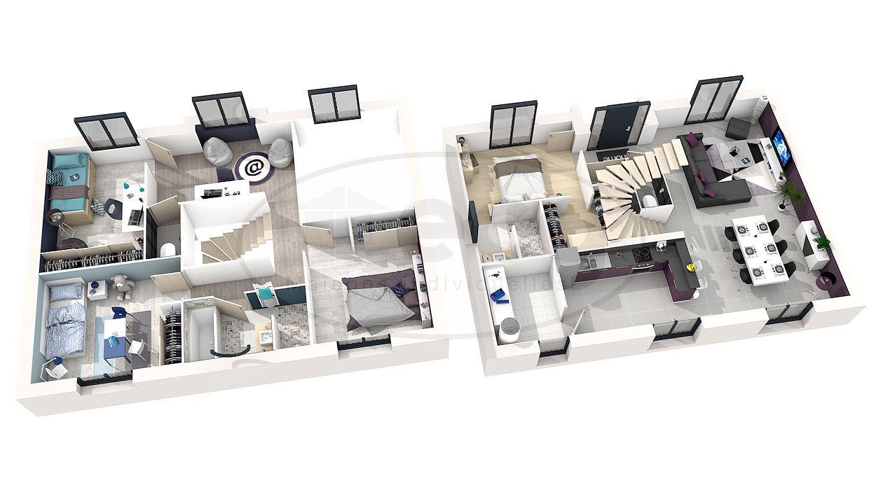 Plan maison 3d avec etage source google image http my planonline fr wp content uploads po162 plan 3d s1 jpg related posts plan de maison à étage plan