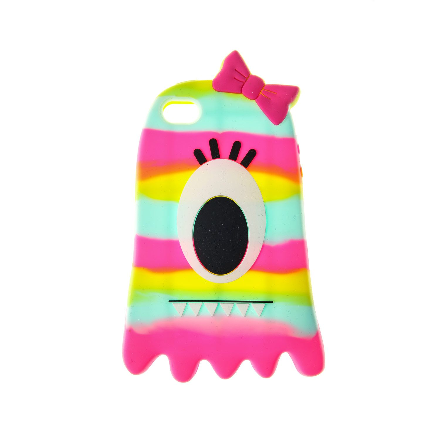 92cc81e4a3 Details about Claire's Girls & Womens Rainbow Blob Monster - Iphone ...