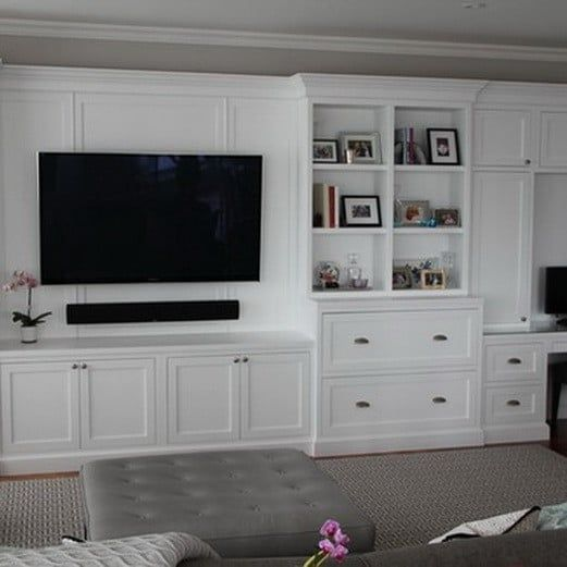 Top 50 Modern House Designs Ever Built: 50 Best Home Entertainment Center Ideas