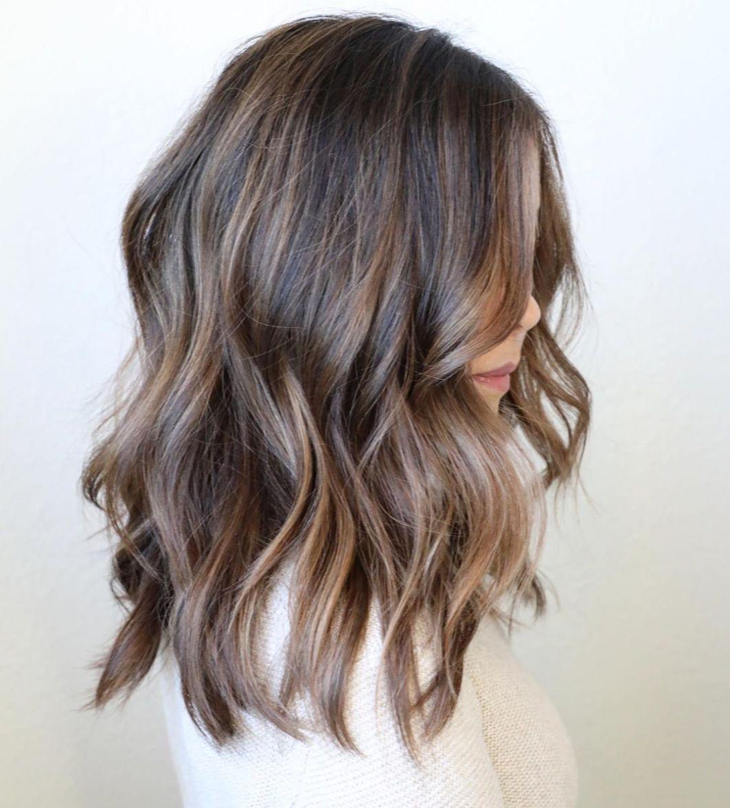 50 Trendy Brown Hair Colors And Brunette Hairstyles For 2020 Hair Adviser In 2020 Natural Brown Hair Dark Hair With Highlights Honey Brown Hair