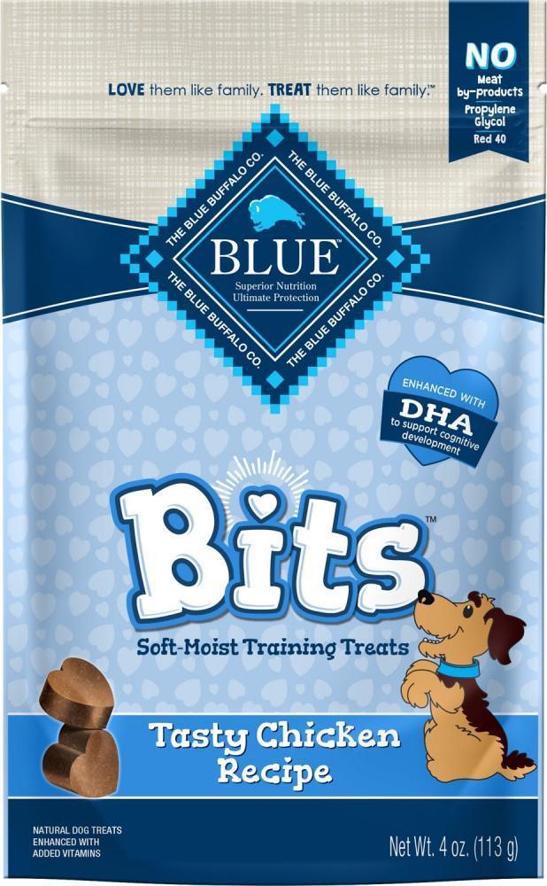 Blue Buffalo Bits Tasty Chicken Natural Soft Moist Training Treats