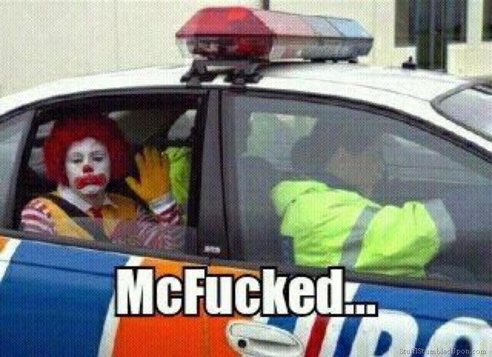 Funny Memes About Fast Food : Car memes mcdonald gets arrested mcdonalds meme food fast