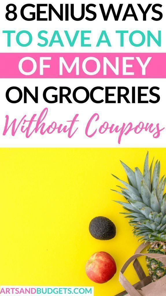 8 Genius Ways To Save Money on Groceries Each Month  Arts and Budgets#arts #bud