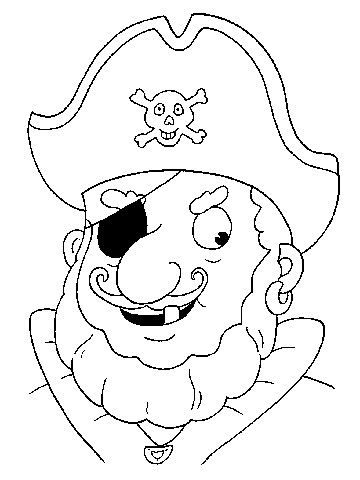 Free Coloring Pages: Pirates | Pirate coloring pages ...