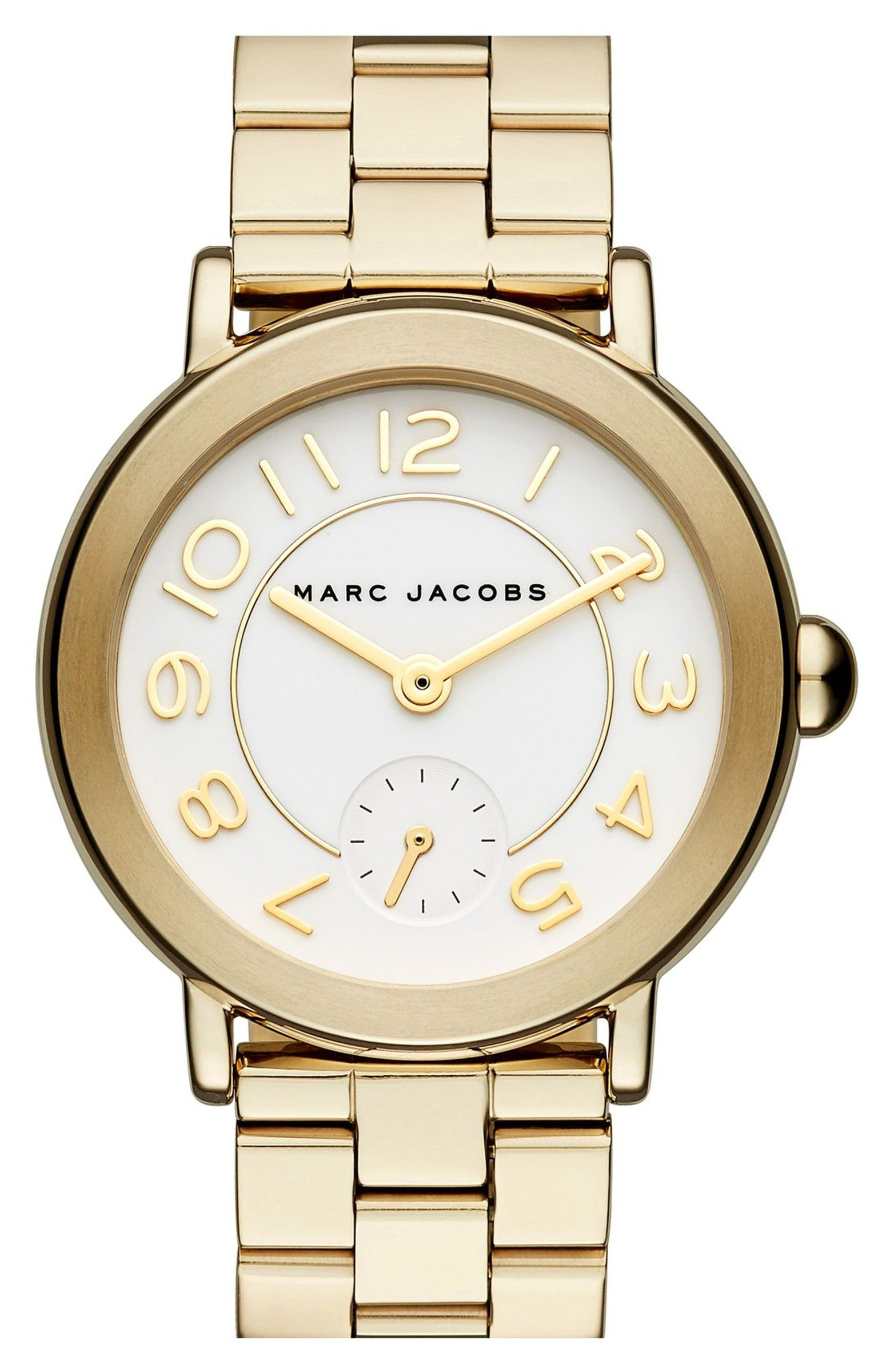 Main Image - MARC JACOBS 'Riley' Bracelet Watch, 36mm