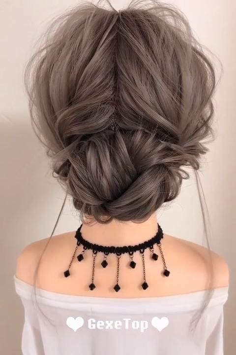 Super Cute Messy Hairstyle