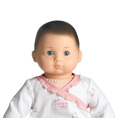 AmericanGirl Bitty Baby - Brown Hair, Blue Eyes | Bitty Baby | Pinterest
