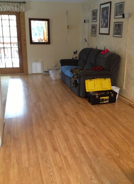 pergo max natural oak laminate flooring home projects we ve done