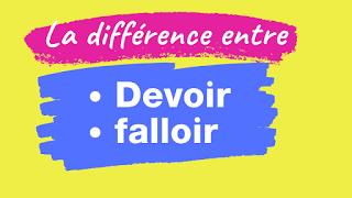 La Difference Entre Devoir Et Falloir Grammaire Francaise Pdf Apprendre Le Francais Apprendre Le Francais Pdf