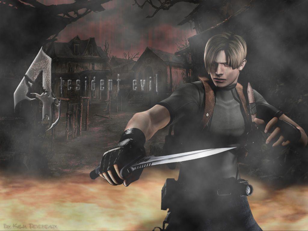 Resident Evil 4 Wallpaper Resident Evil Evil Leon S Kennedy