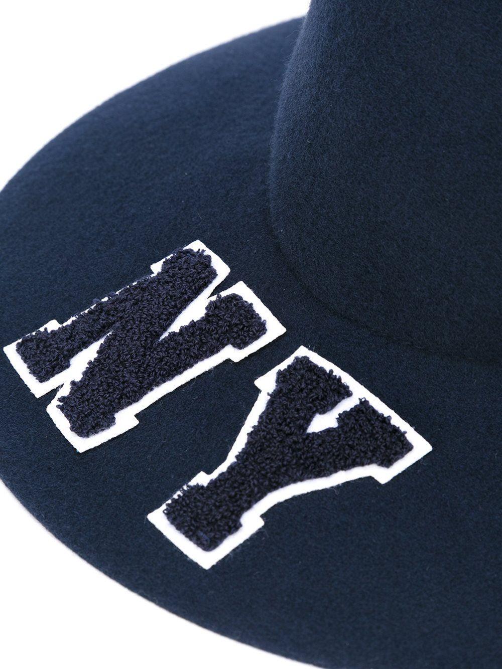 52425dd732c Joshua Sanders 'ny' Fedora Hat - Julian Fashion - Farfetch.com ...