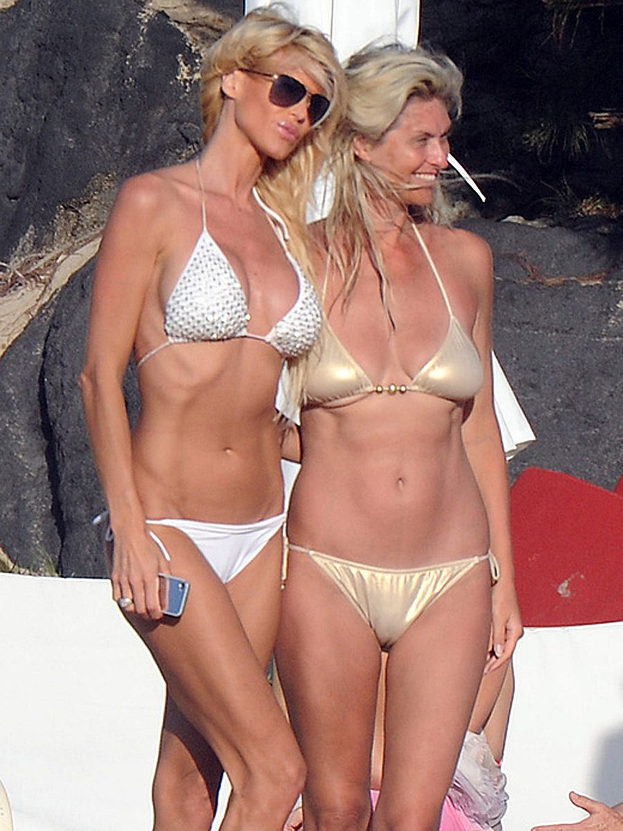 Victoria silvstedt lesbian