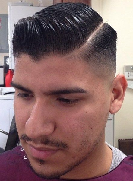 Pomade hairstyles Side parting | barbershops | Pinterest | Haircuts ...