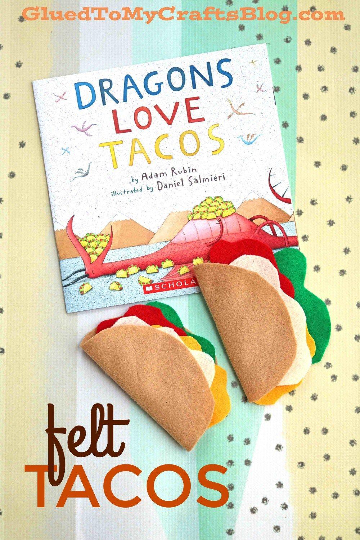Felt Tacos for Dragons Love Tacos