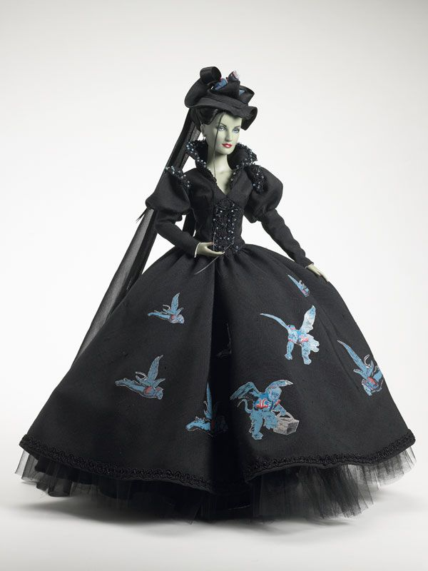 gorgeous tonner doll. wicked witch of the west..these dolls are so ...