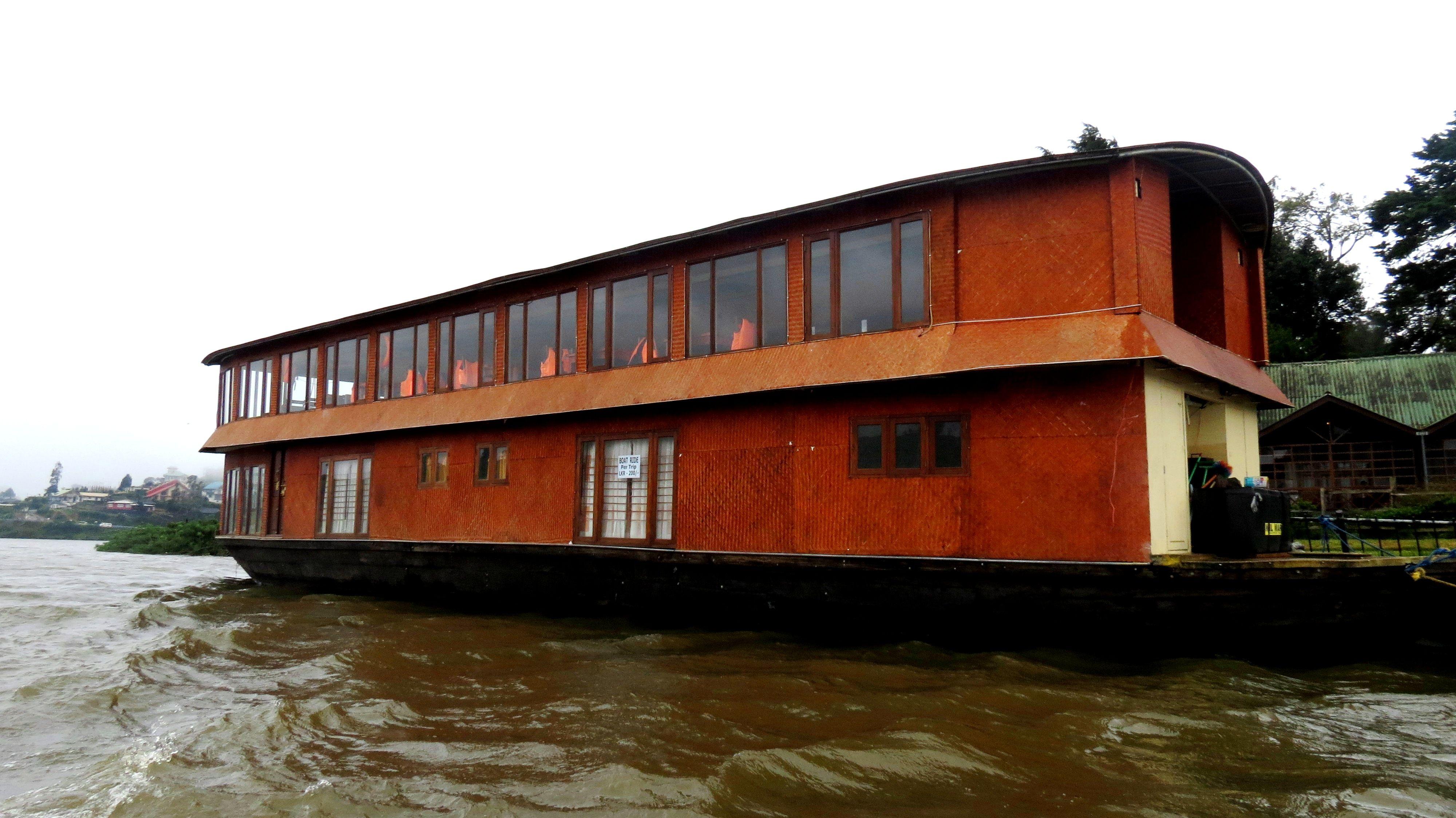 the floating restaurant - (Nuwara-Eliya) Sri Lanka