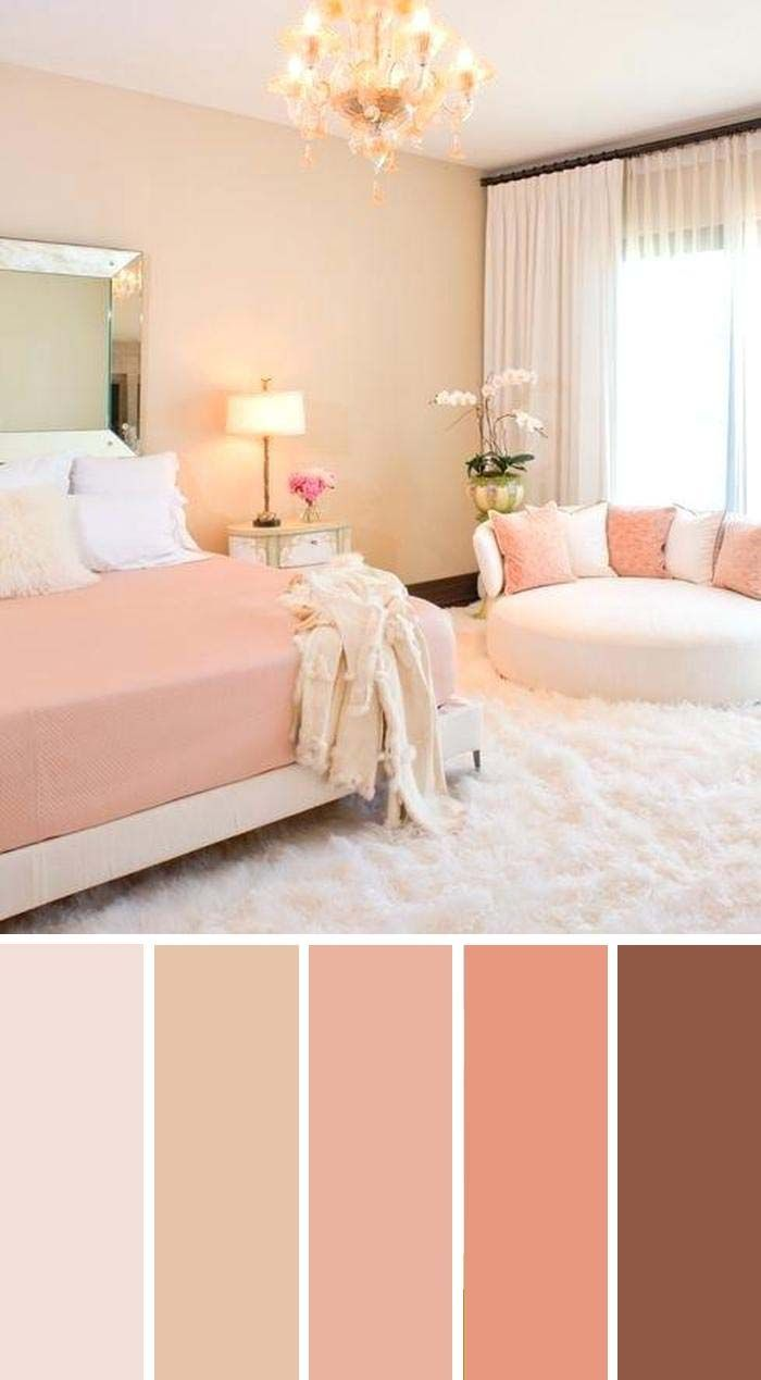20 Beautiful Bedroom Color Schemes Color Chart Included In 2020 Bedroom Color Schemes Beautiful Bedroom Colors Bedroom Colors