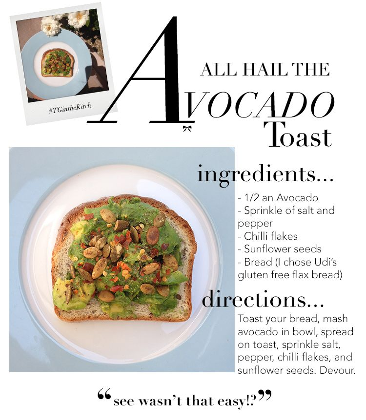 Super Easy (a deliciously #glutenfree) Avocado Toast