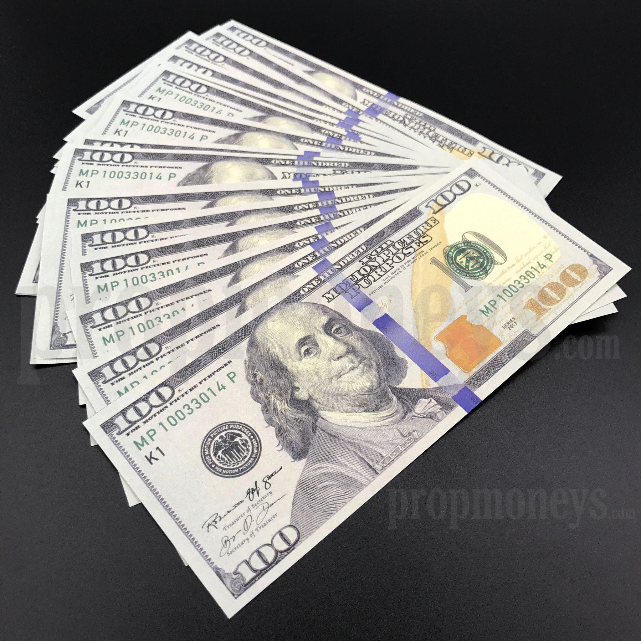 25x 100 Dollar Bills 2 500 Dollars New Style Prop Money Dollar Money Money Bill 100 Dollar Bill