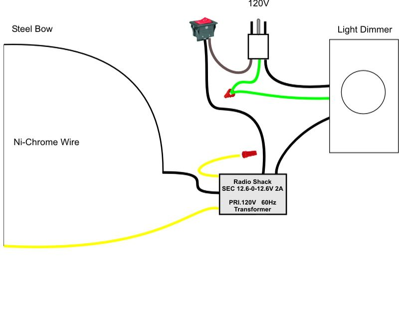 [SCHEMATICS_4HG]  Pictoral guide to a home-made hot wire foam cutter. | Foam cutter, Bottle  cutter, Foam | Hot Knife Wiring Diagram |  | Pinterest