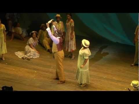 The Gershwins' Porgy & Bess, opening tonight.