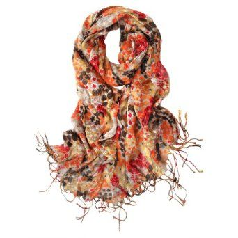 Scarfand's Small Floral Scarf