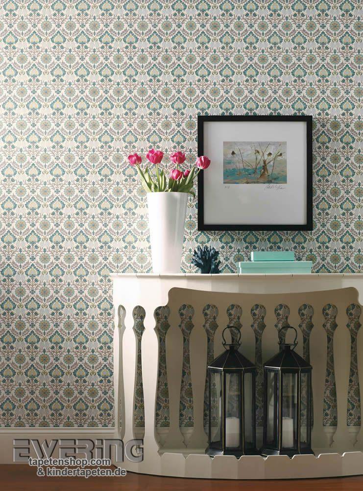 23-waverly-small-prints-13 - Eine grau-grüne Verzierung bringt einen