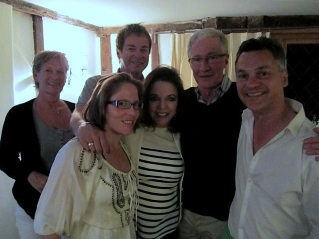 2011 May  drops by @julianclary twitpic as promised! With Katy, Frankie, Paul de Freitas and Joan