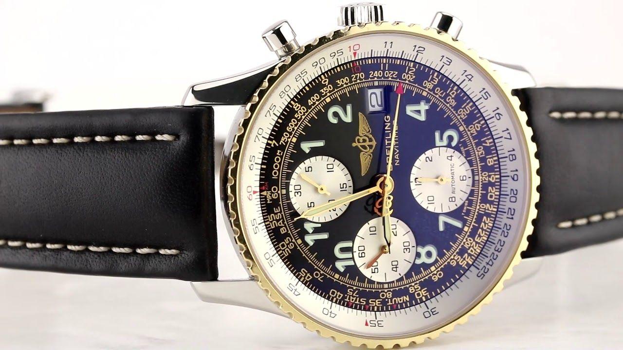 grosses soldes extrêmement unique luxuriant dans la conception Les montres Breitling Old Navitimer Gold/Steel D13322 d ...