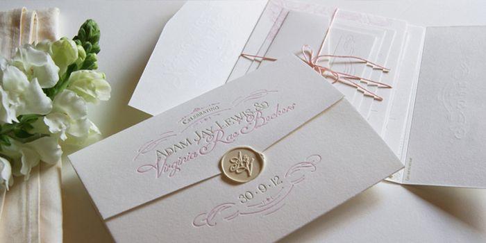 Wax Seal Envelopes Wedding Invitations 1