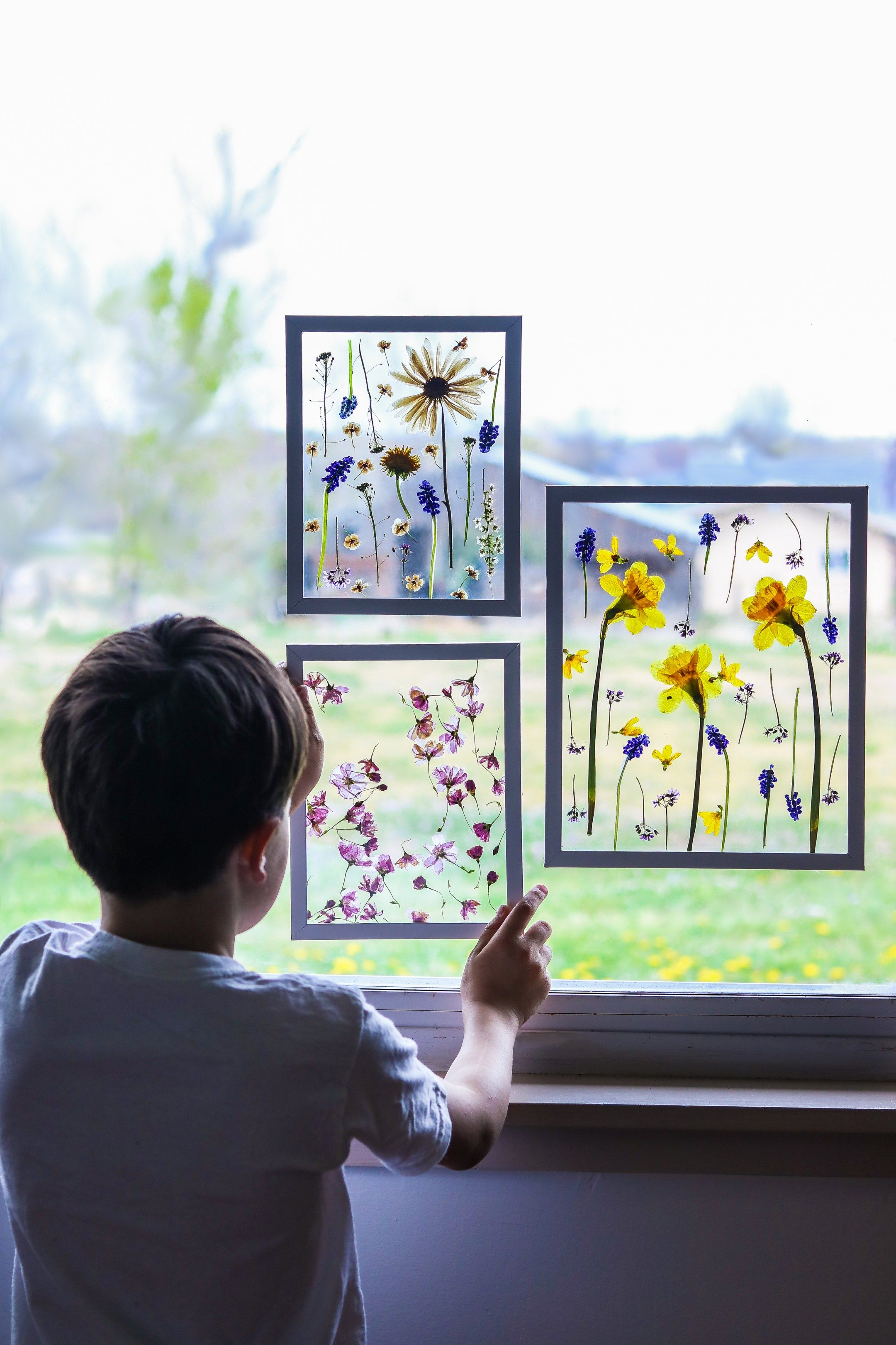 Photo of Mother's day craft ideas- PRESS FLOWERS in 3 MINUTES –