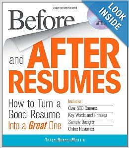 A Good Resume Before And After Resumes With Cd How To Turn A Good Resume Into A .