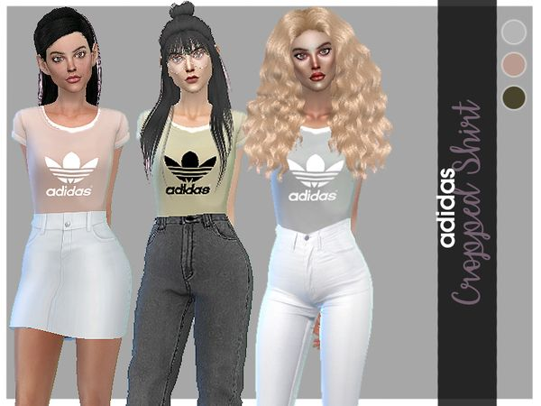 Adidas Inspired Clothing Found in TSR Category 'Sims 4 Sets