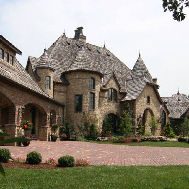 Luxury Stone Homes: Yes. This Will Work Just Fine. It Has My Turrets