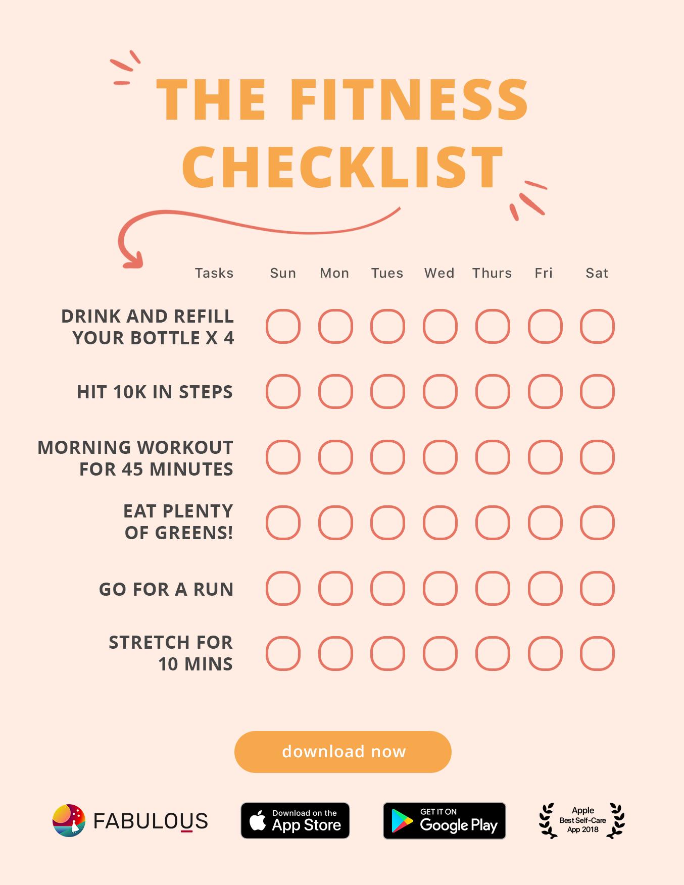 Exercise Fitness Motivation App