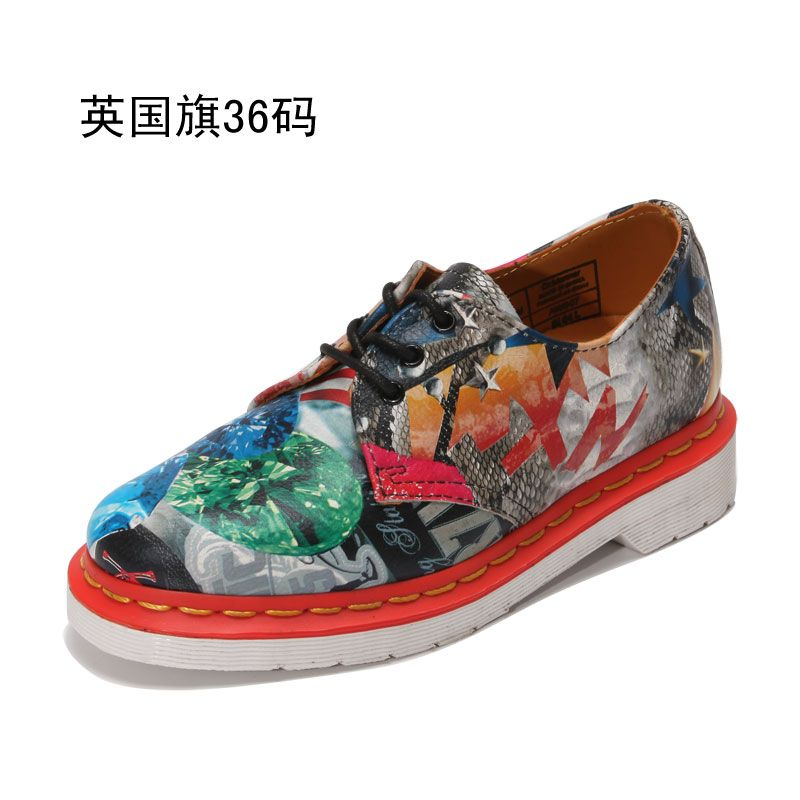 Graffiti Martin Boots Fashion Shoes For Women